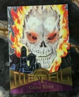1995 Fleer - Marvel Metal Trading Card - Flasher Card #59 Ghost Rider