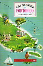 ALBUM FIGURINE GIRO DEL MONDO COMPLETO PORTORICO