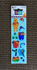 Winnie the Pooh Paper Doll Stickers, Unused, MIP, Sandylion, Disney, 1990's