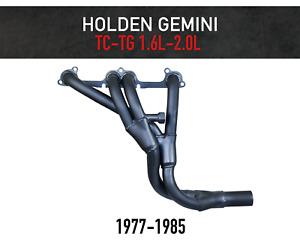 Headers / Extractors for Holden Gemini TC-TG 1.6L, 2.0L (1977-1985)