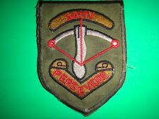 Royal Australian Army Training Team AATTV PERSEVERE Patch