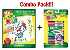 Crayola Colour Wonder 10 Mess-Free Mini Markers x Drawing Paper-30 Sheets