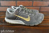 VGC! Nike Zoom Kiger 599119-080 Womens Size 8 Trail Running Gray/Orange