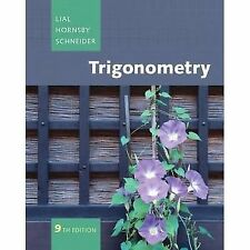 TRIGONOMETRY 9TH EDITION By Hornsby John - Hardcover-2009,ISBN:9780321528858