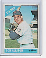 Bob Allison 1966 Topps Baseball Card #345 (B)
