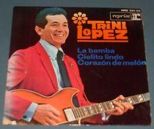TRINI LOPEZ la bamba 1964 SPANISH HISPAVOX REPRISE PS EP
