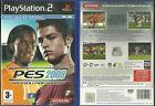 JEU PLAYSTATION 2 PS2 - PES 2008 FOOT FOOTBALL / EN FRANCAIS