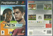 JEU PLAYSTATION 2 PS2 - PES 2008 FOOT FOOTBALL / EN FRANCAIS