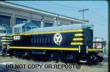 ORIGINAL SLIDE BELT RAILWAY OF CHICAGO SW1200 520 BEDFORD PARK IL 1981