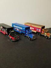 VINTAGE MATCHBOX NASCAR SEMI HAULERS LOT OF 3 FOLGERS,MAXWELL HOUSE,CAPPIO COFFE