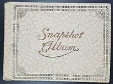 Edwardian Snapshot Photograph Album, Photos Inc Motoring Interest, c 1910's