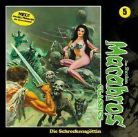 DAN SHOCKER - MACABROS CLASSICS: DIE SCHRECKENSGÖTTIN FOLGE 05   CD NEW