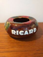 Vintage Ricard Ceramic Ashtray - Breweriana