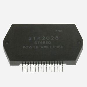STK2028 HYBRID INTEGRATED CIRCUIT , Stereo Power Amplifier , UK SELLER
