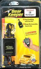 Gear Keeper RT4-4112 Black Retractable CB Radio Microphone Mic Hanger/Holder