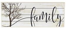 """FAMILY Wooden Block Sign, 10"""" x 4"""" by Jan Michaels"""