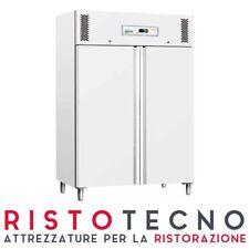 Armadio Frigo Refrigerato Plastificato bianco - 1200 Lt. +2°/+8°C professionale