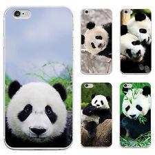 3D Panda imprimé Coque TéléPhone Pour iPhone Samsung Galaxy S5 S6 Gracieux