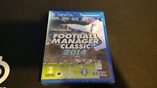 Jeu PS VITA NEUF : Football Manager 2014
