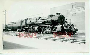 1C011 RP 1940s BALTIMORE & OHIO RAILROAD 2-8-8-2 LOCO #7314
