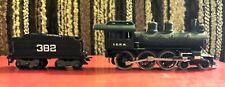 "HO Rivarossi AHM 4-6-0 Steam Locomotive & Tender ""Casey Jones"" - ICRR 382"