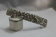 New listing Sterling, Silver, Hair Barrette, Hand Crafted, Kirk Repousse