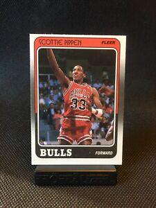 1988 Fleer Scottie Pippen ROOKIE RC #20 Sharp Corners! Chicago Bulls