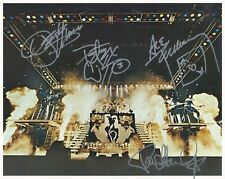 Kiss Band SIGNED 8x10 PHOTO