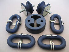 EXHAUST RUBBER MOUNTING SET - RENAULT Fuego & R18