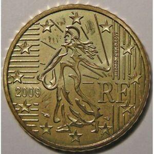 Monnaies Euros, France, 50 Cent 2009, SPL Euros France 50 Cent