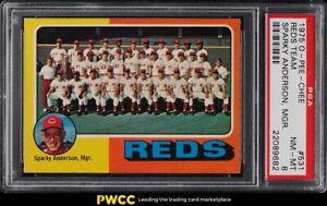 1975 O-Pee-Chee Reds Team #531 PSA 8 NM-MT