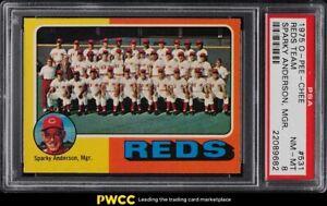 1975 O-Pee-Chee Reds Team #531 PSA 8 NM-MT