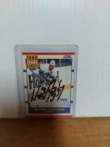 Wayne Gretzky Autographed Hockey Card No Coa