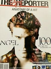 David Boreanaz Angel The Hollywood Reporter Magazine 1/30/04 2004 100 Episodes