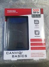 HARD DISC ESTERNO TOSHIBA CANVIO BASIC 500 GB USB 3.0