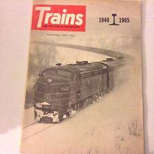 Trains Magazine World War II Diesel Dimension November 1965 070117nonrh