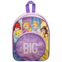 Disney Mochila Princesas Mochila Oficial Con Bolsillo para Niños Escuela 1096
