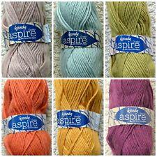 Knitting Wool 100g Aspire Chunky Yarn Alpaca Wool Wendy Wools