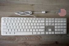 LMP Alu Mac USB Tastatur m. Ziffernblock Apple Keyboard US ANSI (QWERTY)  Silber