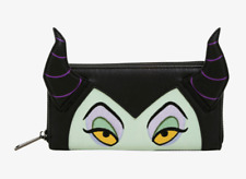 Authentic Loungefly Disney Maleficent 3D Horns Villains Wallet Sleeping Beauty