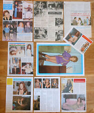 LUCIANA WOLF prensa 1960s/1970s spanish singer sexy photos clippings poster
