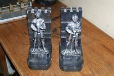Medieval Knight Book Ends Mid Century Modern
