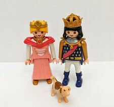 Playmobil King & Queen Figures with Dog Royal Family
