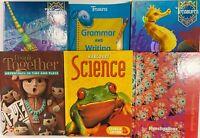 2nd Grade 2 Curriculum 5-Subject Student Set Bundle Homeschool Homeschooling