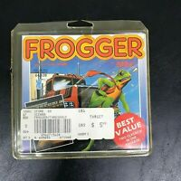 2-in-1 Frogger & Threshold [Commodore 64, 1986] Complete in Box