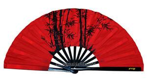 Kung Fu Martial art Tai chi Competition Bamboo Bone Bamboo Design Training Fan
