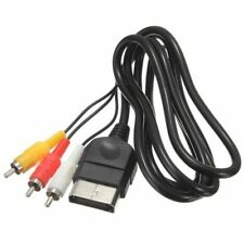 Composite AV to RCA Cable for Microsoft Xbox Original Classic 1.8m 6ft Cord Lead