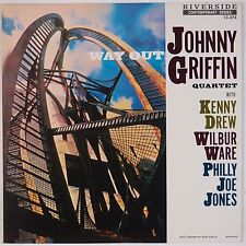 JOHNNY GRIFFIN QUARTET: Way Out RIVERSIDE Japan Jazz Vinyl LP NM