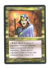 MTG MAGIC THE GATHERING ITALIAN LEGENDS RARE BORIS DEVILBOON x1 RESERVED LIST!