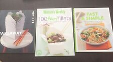 "3 x Books ""Takeaway"" Les Huynh, ""Fast & Simple"" & ""100 Fast Fillets"" AWW *VGC*"